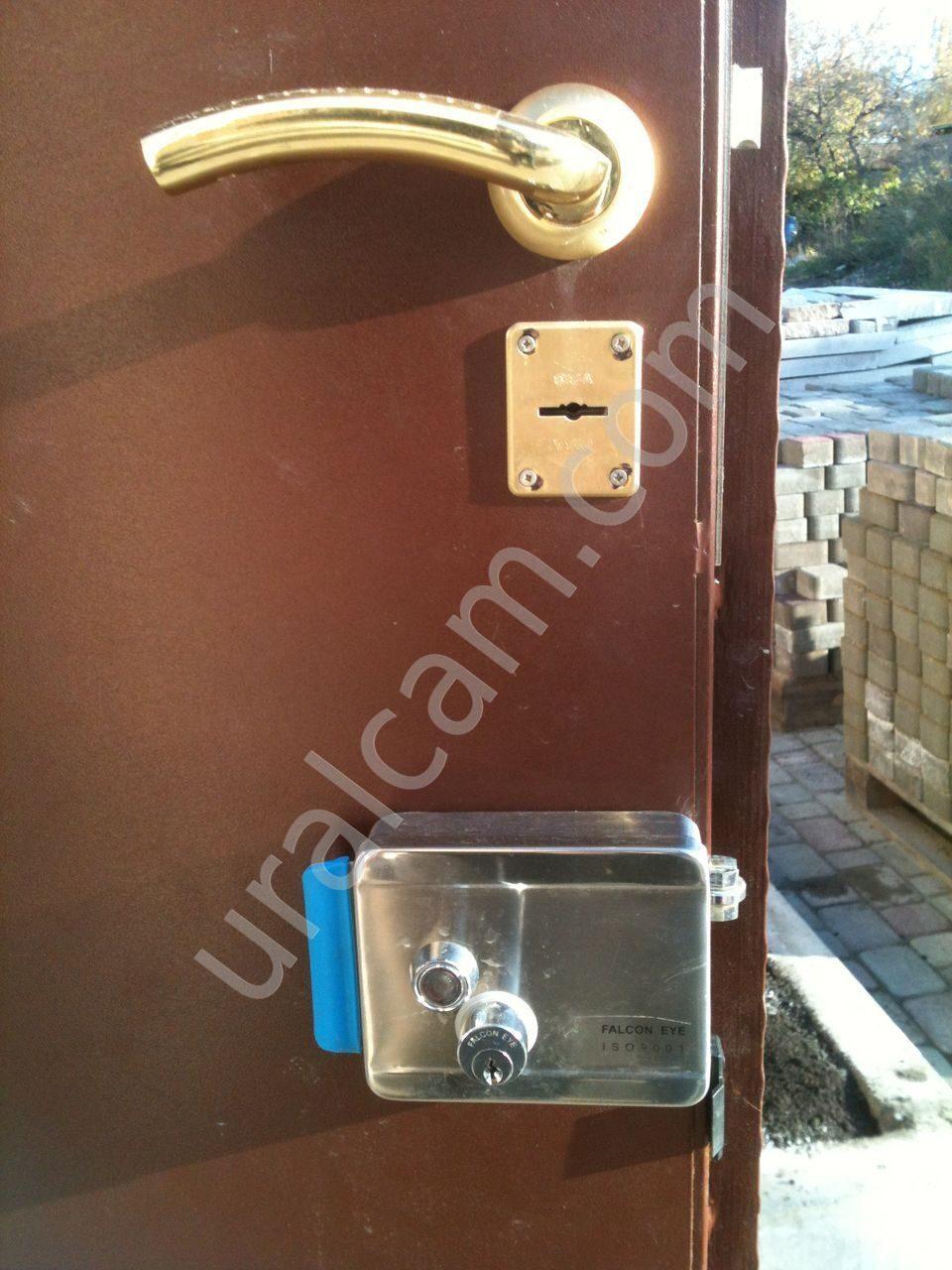 Магнитный замок на входную дверь цена
